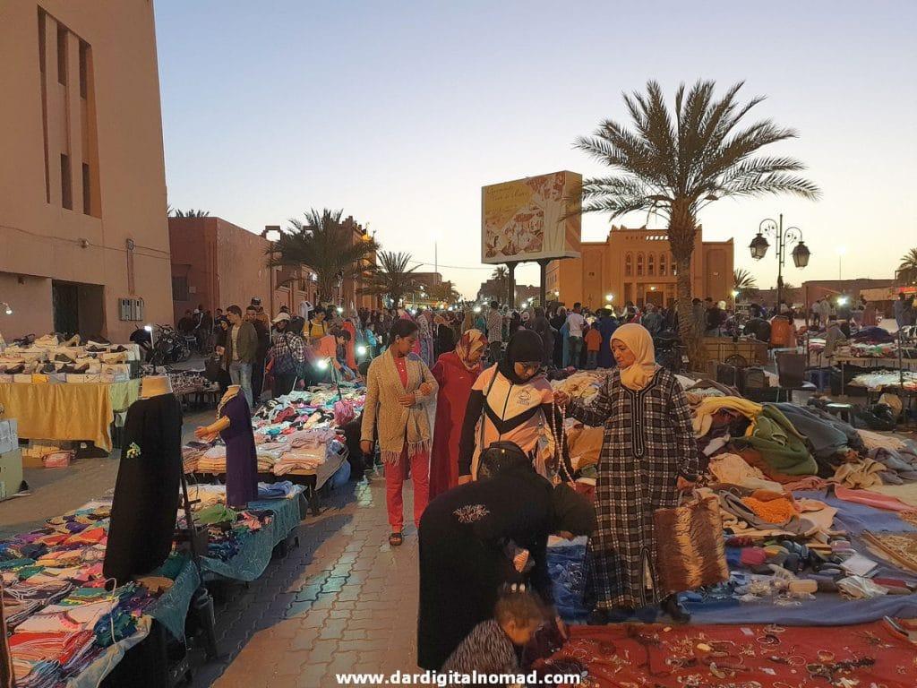 Al-Mouahidine Square in Ouarzazate