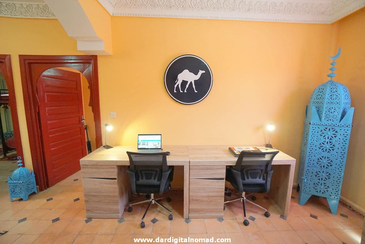 COWORKING COLIVING SPACES IN MOROCCO