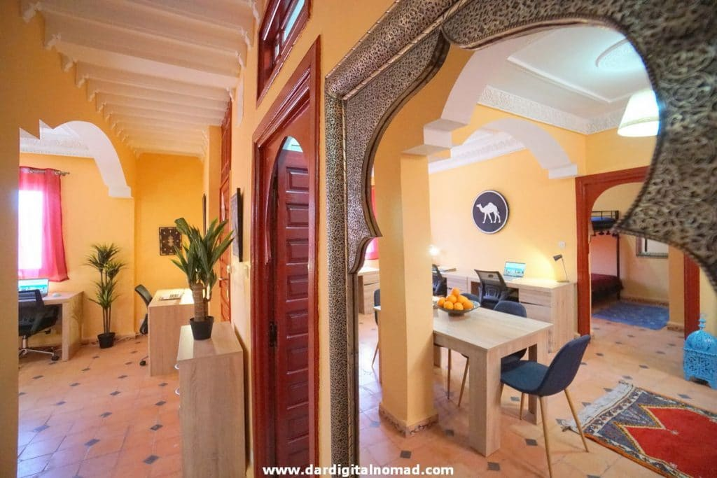 COLIVING SPACE IN MOROCCO
