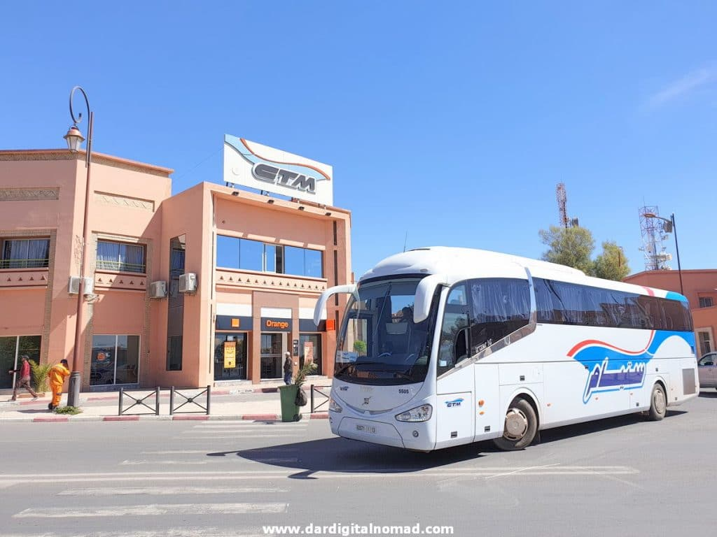 CTM Bus Station Ouarzazate