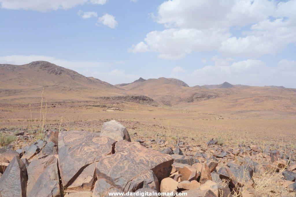 Jbel Adad Petroglyphs