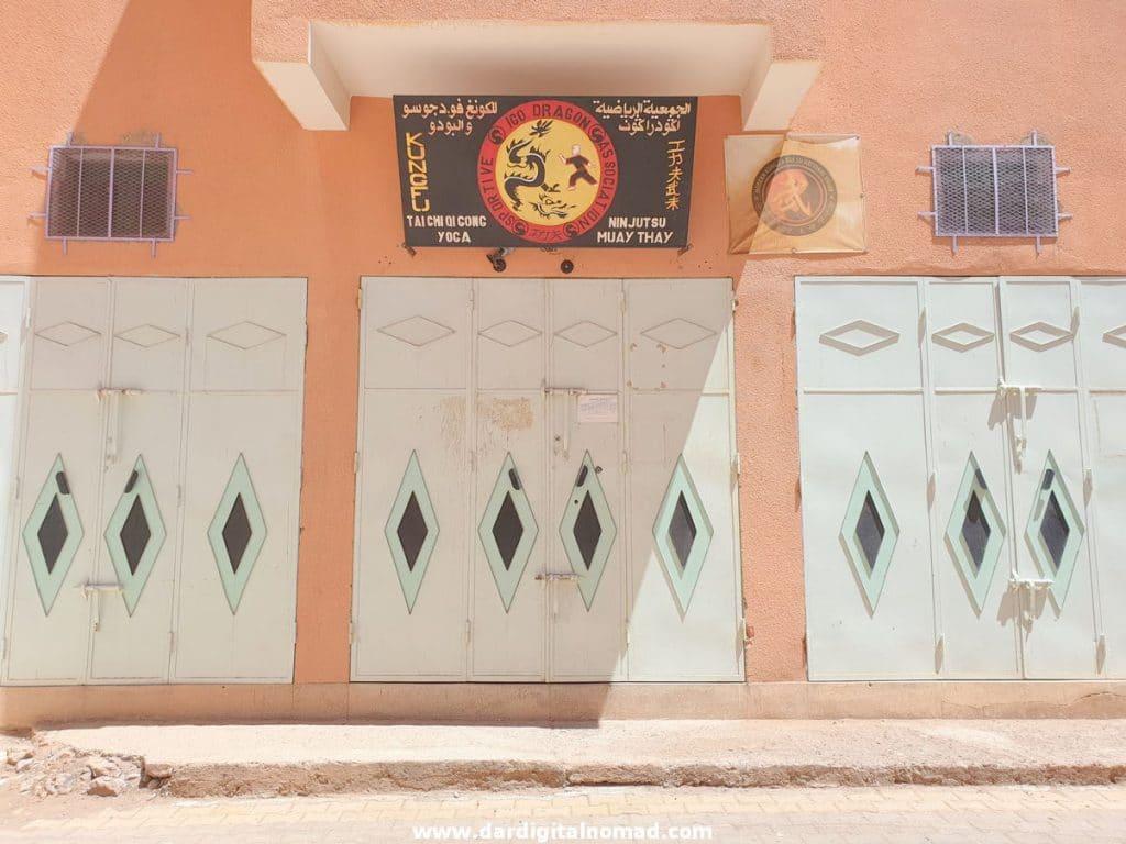 Kung Fu School in Ouarzazate