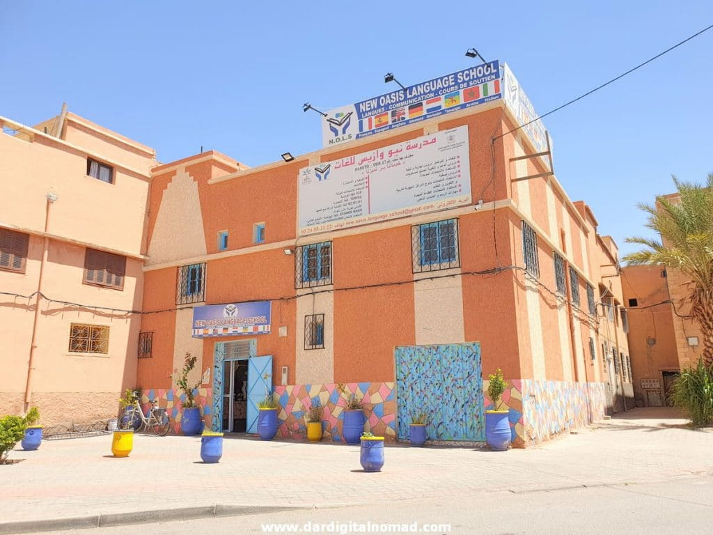 New Oasis Language School Ouarzazate