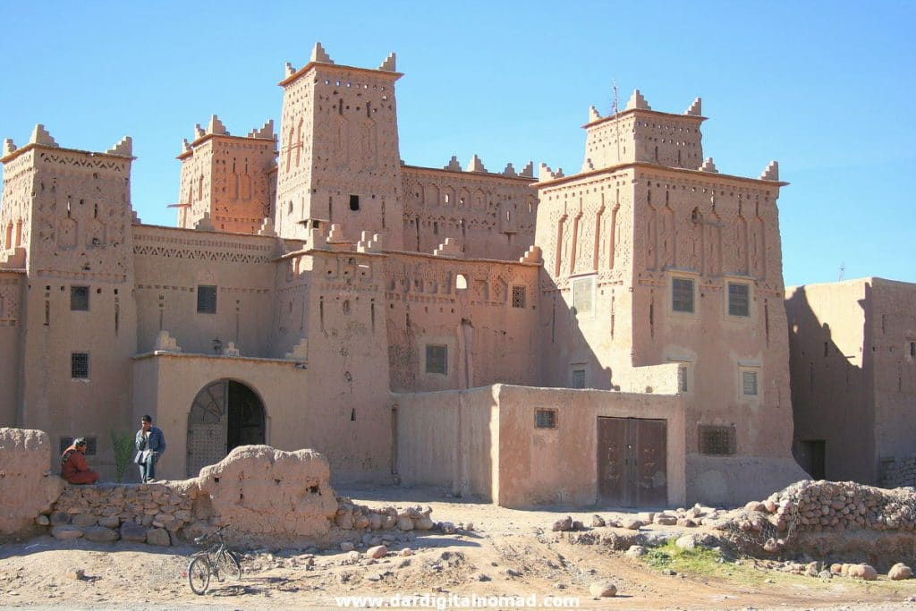 Kasbah Amridil in Oasis Skoura