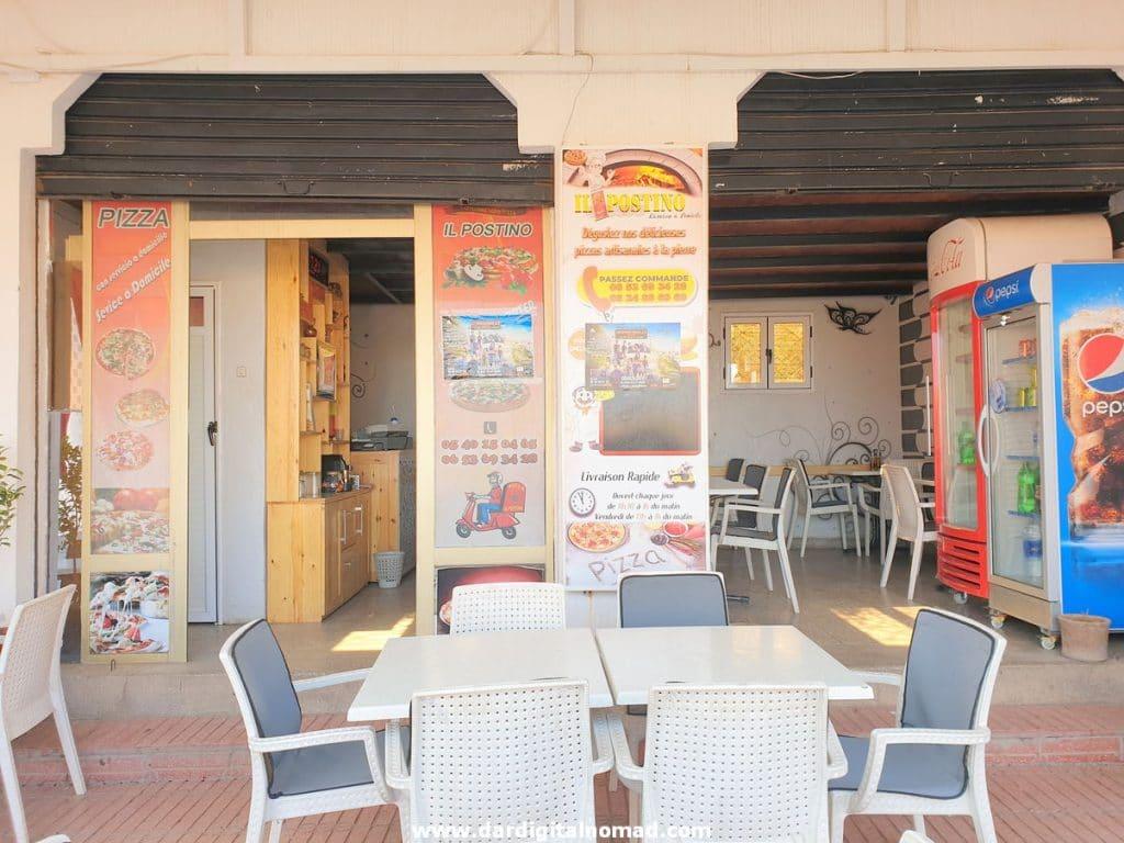 Pizzeria Il Postino in Ouarzazate