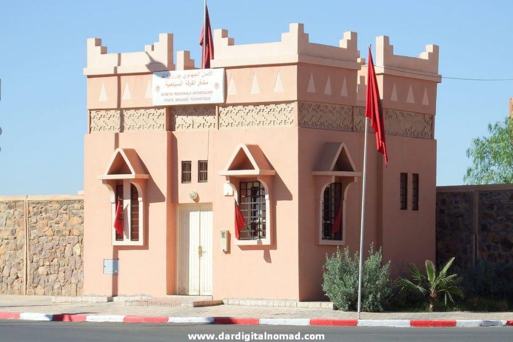 Poste Brigade Touristique Ouarzazate