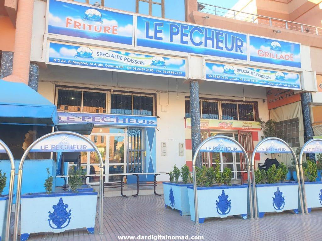 Restaurant Le Pecheur in Ouarzazate