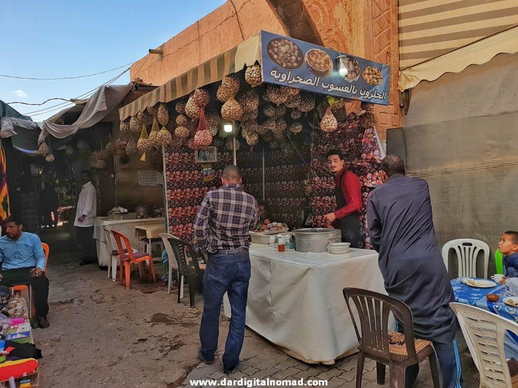 Snails Chez Youssef Ouarzazate
