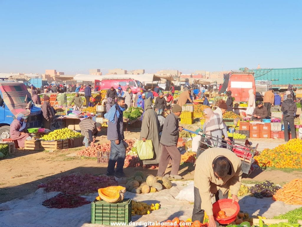 Sunday Market in Ouarzazate