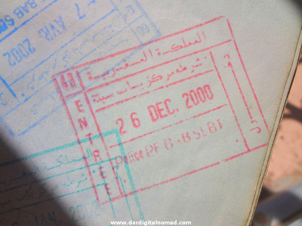 Visa to Morocco